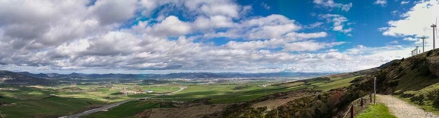 Alto del Pedron Camino de Santiago
