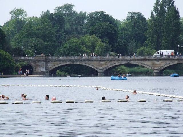 Outdoor Activities in London - Swimming in London