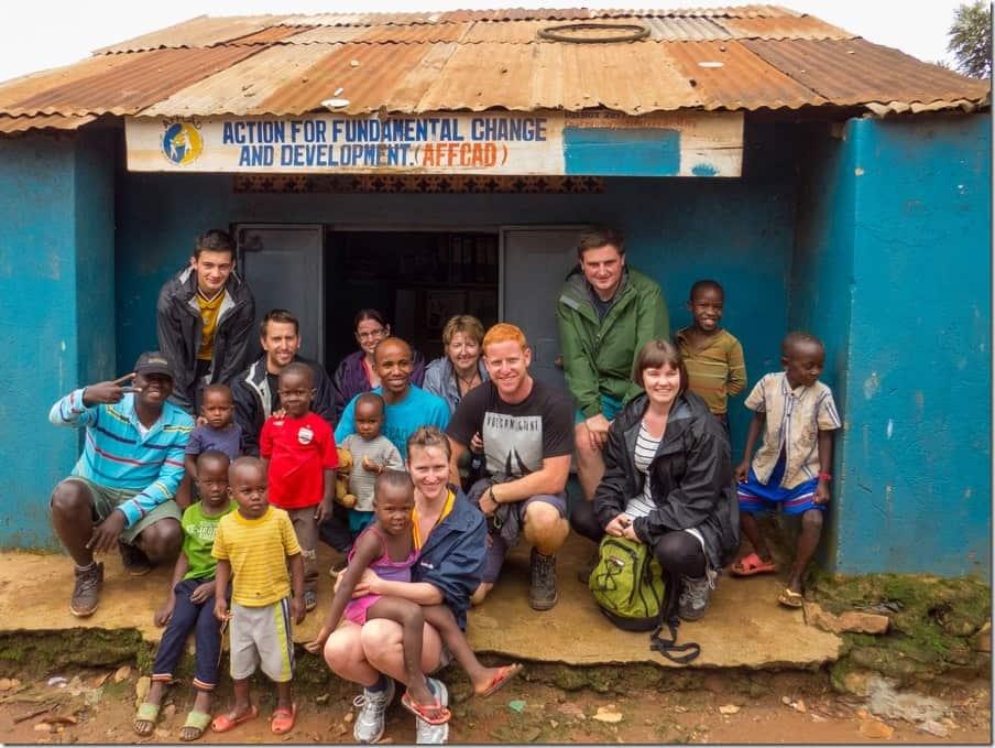 AFFCAD Bwaise Slum Tour in Uganda