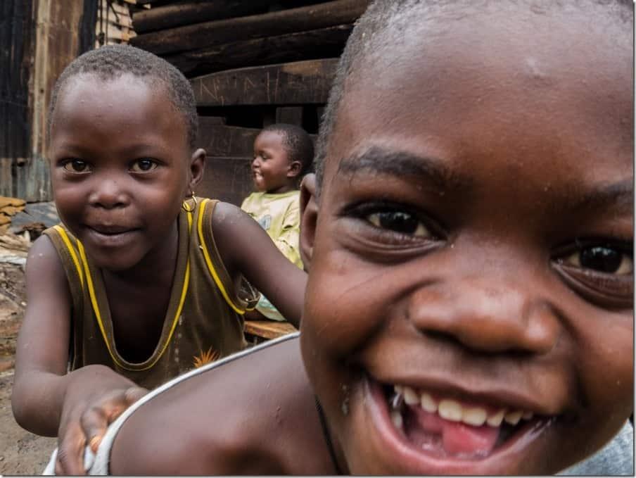 Bwaise Slum Tour - Children