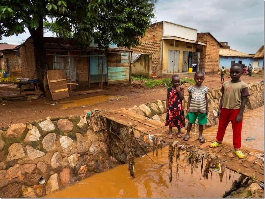 Bwaise Slum Tour in Uganda - Canals