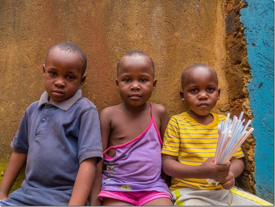 Children of Bwaise Slum
