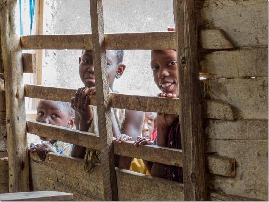 Local school in Bwaise Slum - Uganda