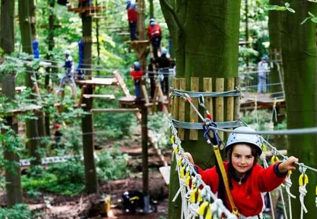 Climbing FunPark, Outdoor Activities in Amsterdam: Adventure City Guide
