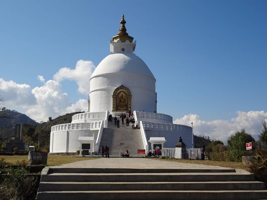 Peace Pagoda - Outdoor Activities in Pokhara