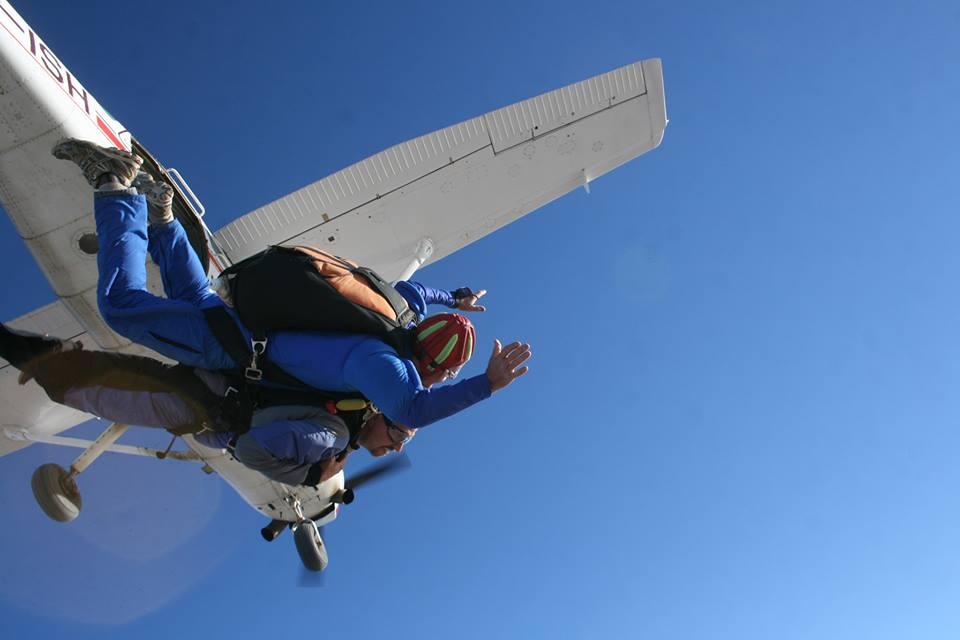 Skydiving in Nairobi