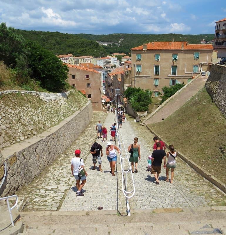 Bonifacio walkway
