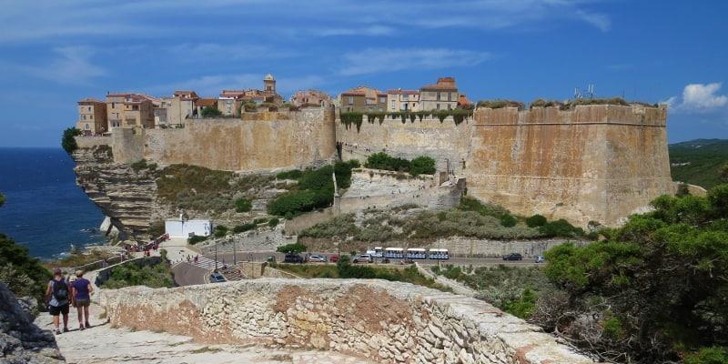 Bonifacio walls