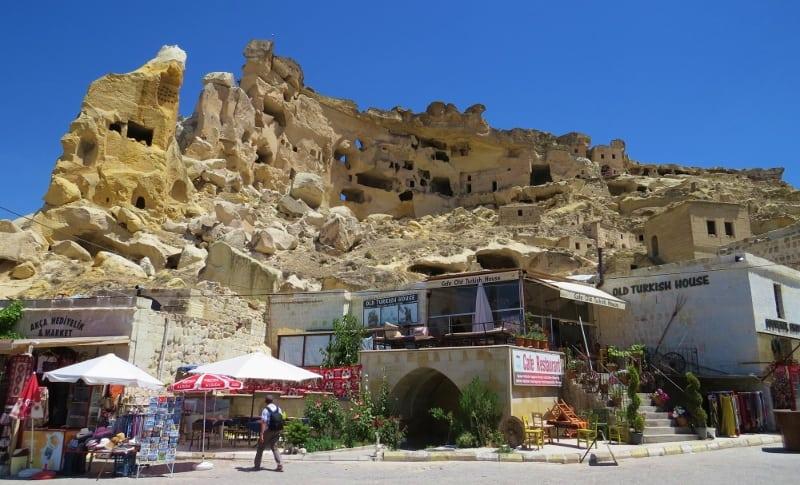 Cavusin Castle Cappadocia