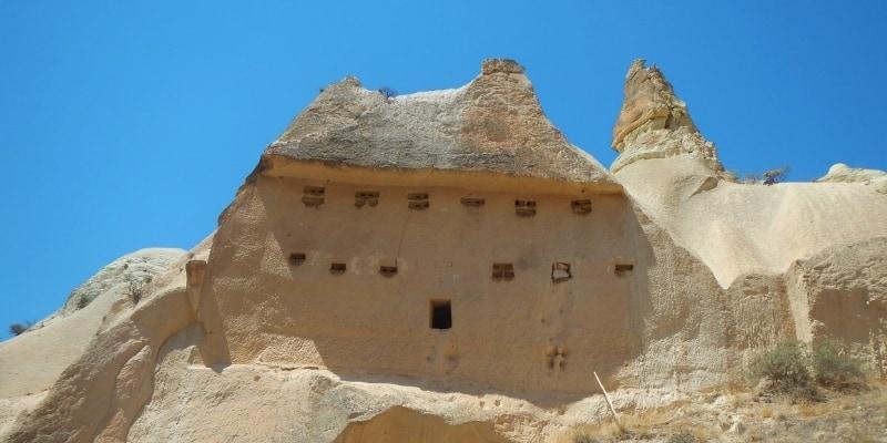 Pigeon houses in Cappadocia