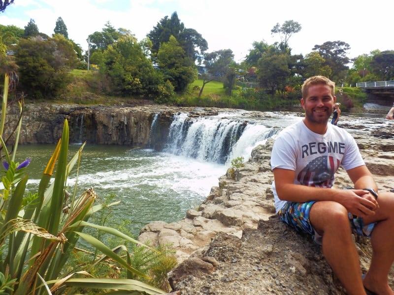 Haruru Falls in Paihia
