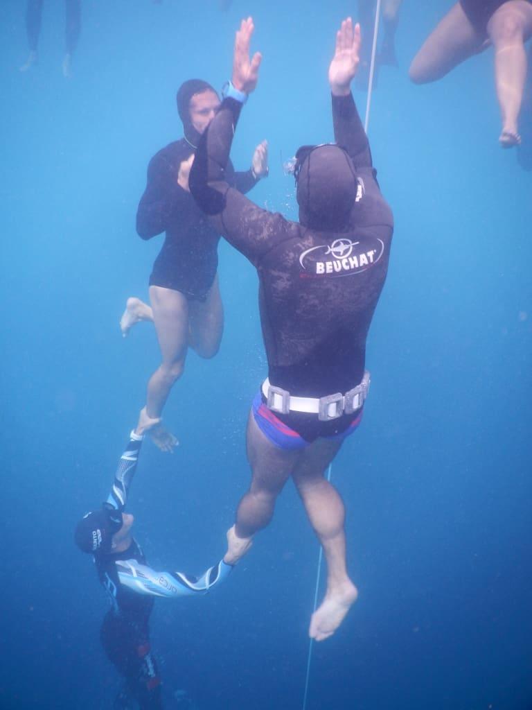 Vertical Blue Games day - tandem dive