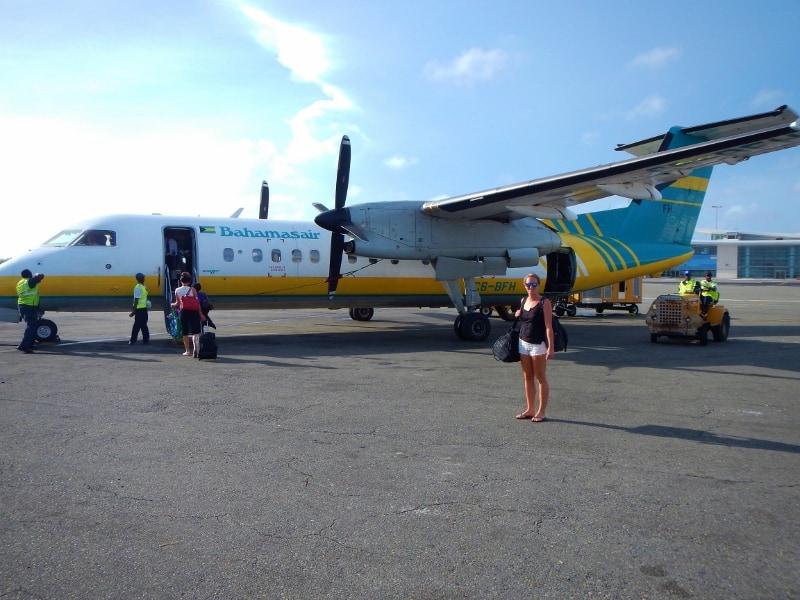 Long Island Bahamas plane