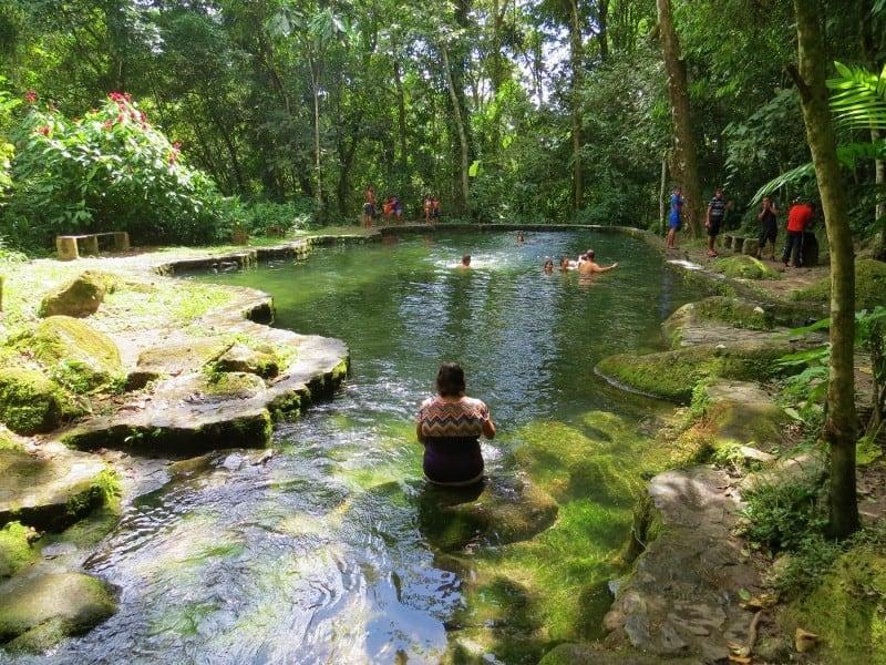 El Valle - Punte Mama Chea natural pool