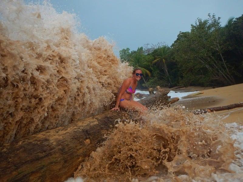 Panama - Bocas del Toro storm