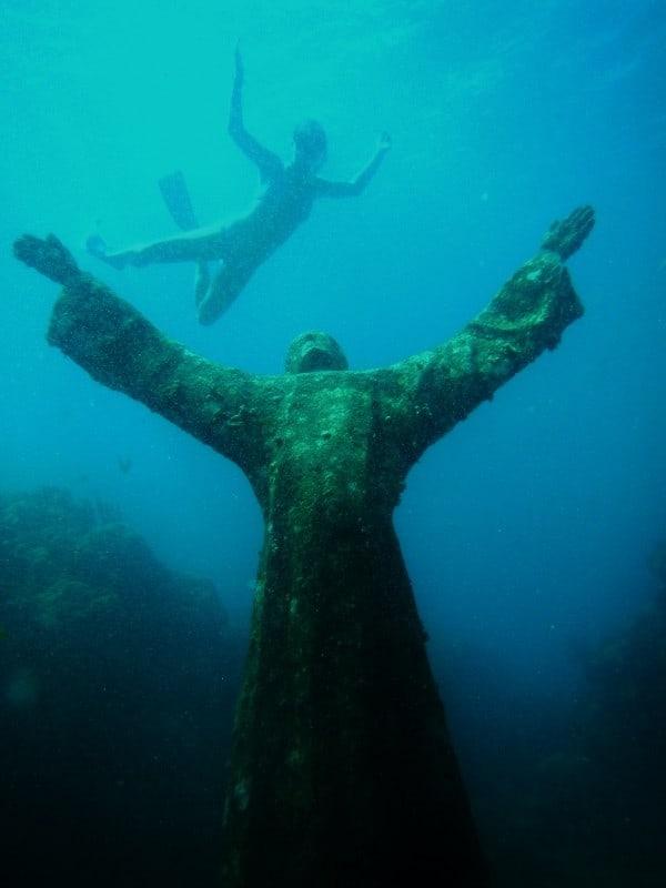 Grenada's Underwater Sculpture Park 07