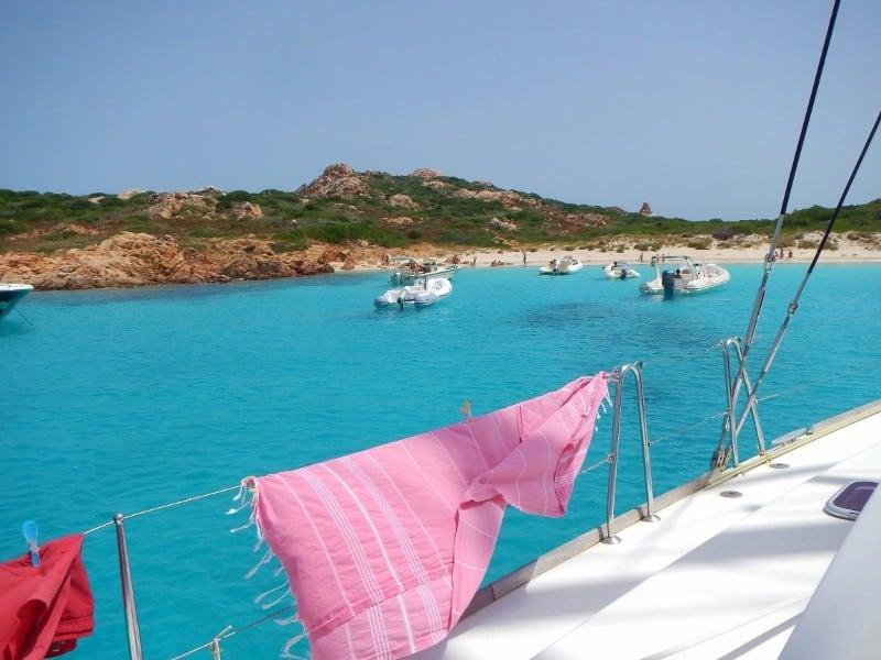 Island near Sardinia